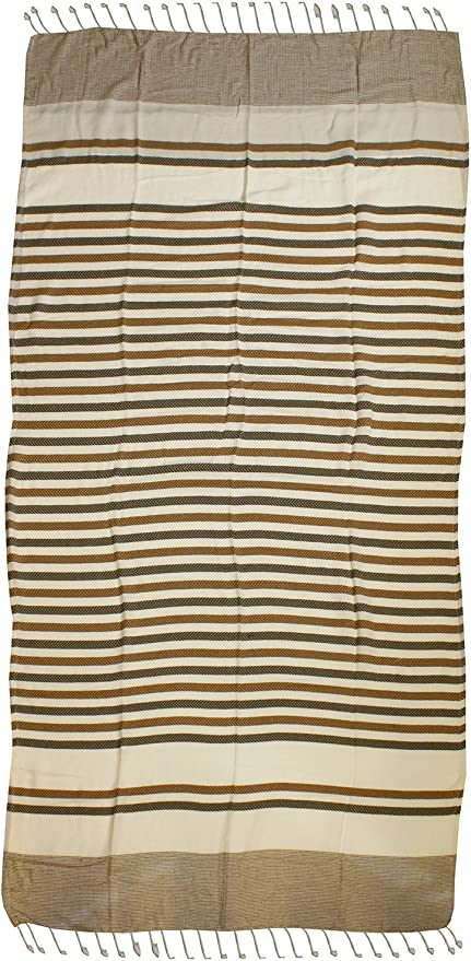 COGAL spa Toalla Playa Maxi Pareo cm 100 x 210 Formentera algodón ...