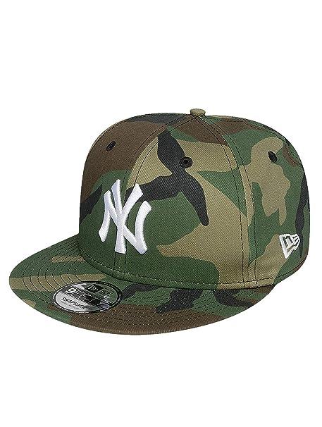 f62ce625 New Era Men Snapback Caps MLB League Essential NY Yankees 9Fifty Camouflage  S/M: Amazon.co.uk: Clothing