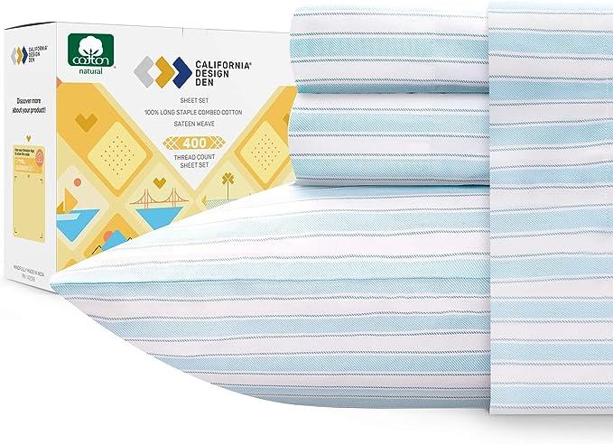 Blckout Elegance 1000TC Hotel Weight 100/% Cotton Sheet Sets 4 Colour King