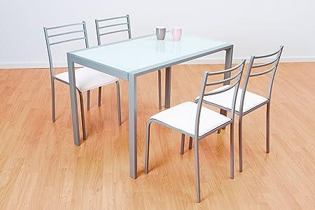 mesa comedor de norte y sillas