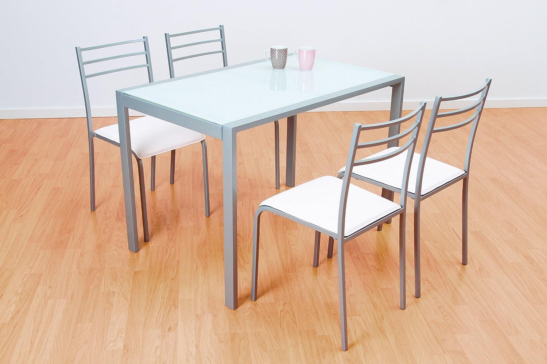 Great conjunto de mesa y sillas de cocina images mesa 6 for Sillas naranjas baratas