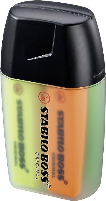 Oferta amazon: Marcador fluorescente STABILO BOSS Original - Estuche Big BOSS Box con 4 colores