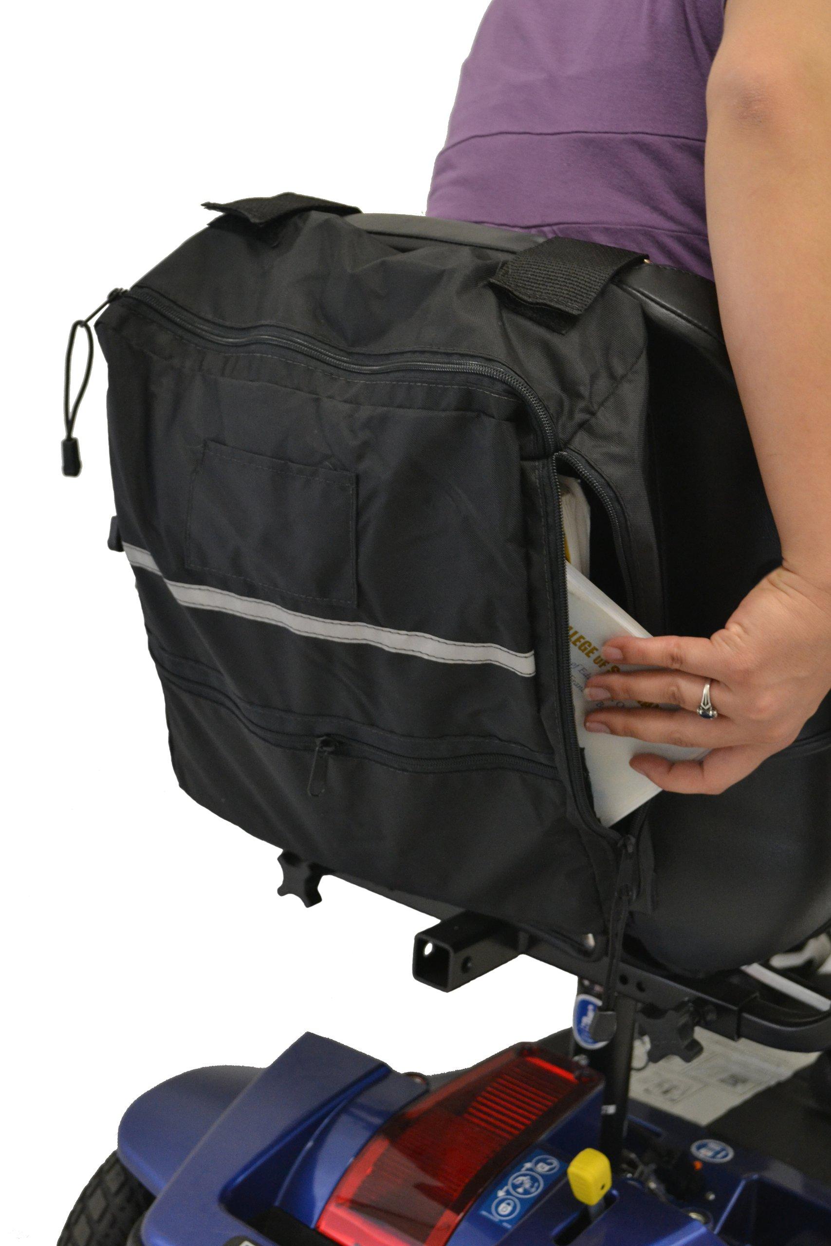 Wheelchair Side Access Seatback Bag B1112 Diestco