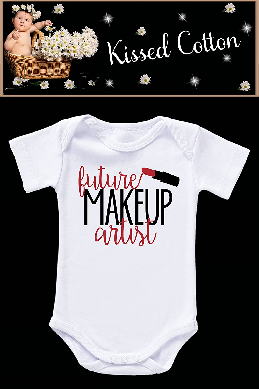 Future Makeup Artist baby onesie (KC92)