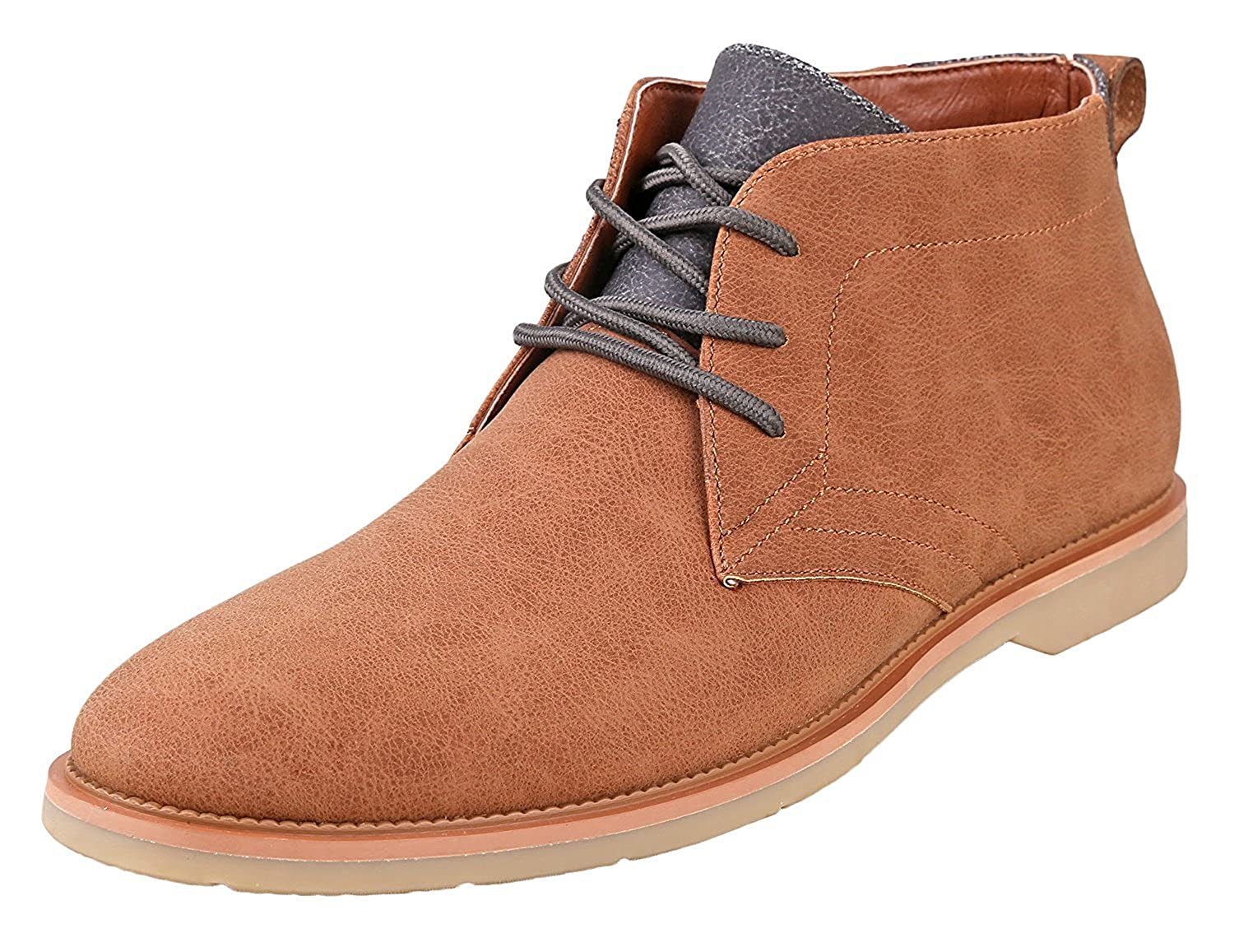 Amazon.com: Ferro Aldo Men's Marvin Ankle Boots | Lace Up | Fashion |  Casual | Chukka: Clothing