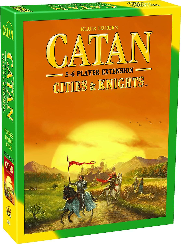 Catan: Cities and Knights 5-6 player Extension: Amazon.es: Juguetes y juegos