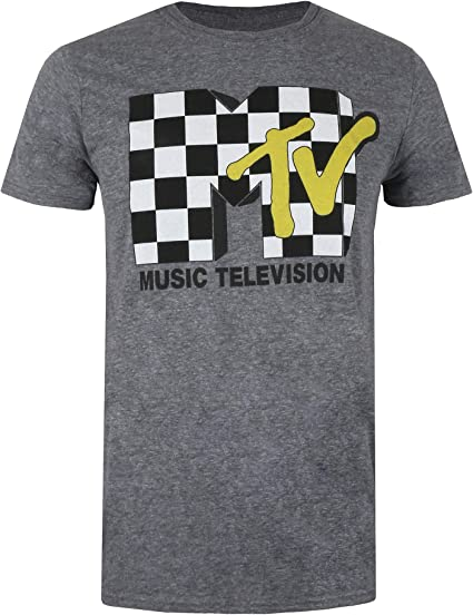 Negro MTV Licenciado Oficialmente Distressed USA-Flag Hombres Camiseta sin Mangas