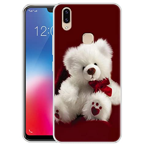 on sale 2458d d0401 Fashionury Vivo V9 Cover/Vivo V9 Back Cover/Vivo V9 Designer Printed Soft  Back Case - P320