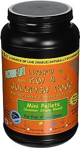 Ecological Labs MLLMPMD Microbe Lift Mini Pellets Fish Food
