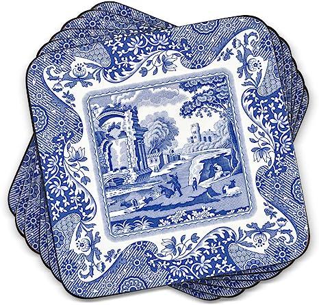 Blue Ceramic Coasters
