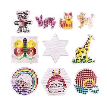 TADAE Tableros de Perlas de fusibles de 10 Paquetes, Kits de ...