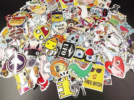 34c60fa22695 Amazon.com: Edwin Group of Companies 600 Random Skateboard Stickers ...