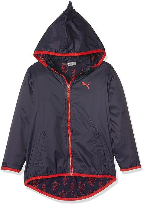 Puma giacca a vento Tabaluga per ragazza giacca antipioggia NUOVO