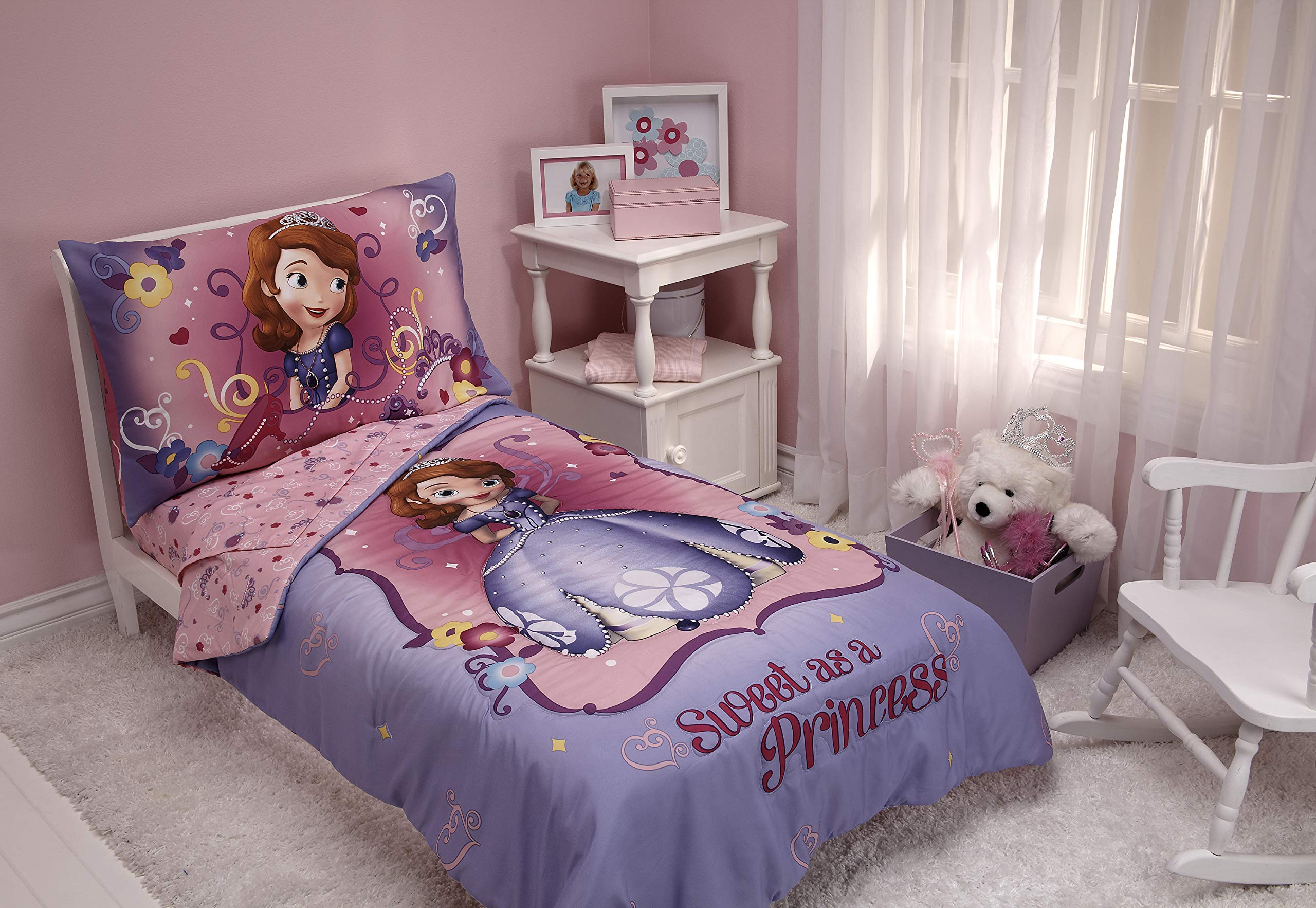 Disney Sofia 4 Piece The First Toddler Set, Sweet As A Princess by Disney