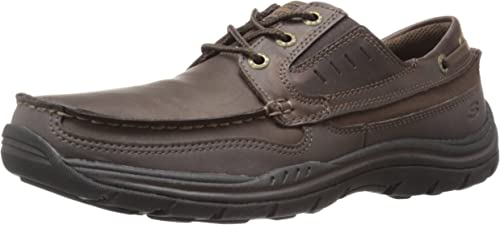 Skechers USA Men's Expected Gembel Relax Fit Oxford