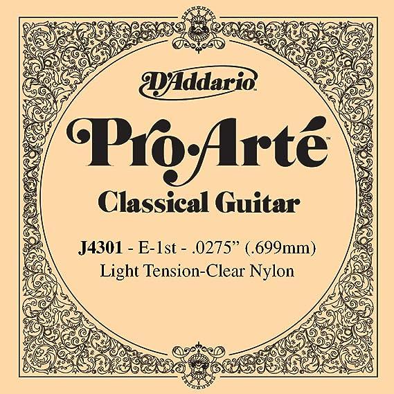 D'Addario J4301 Pro-Arte Nylon Classical Guitar Single String