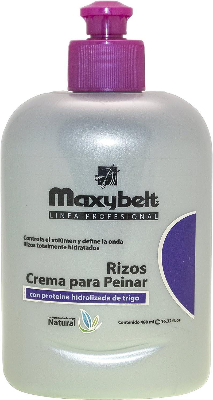 Maxybelt Crema para Peinar Rizos - 500 ml: Amazon.es: Belleza