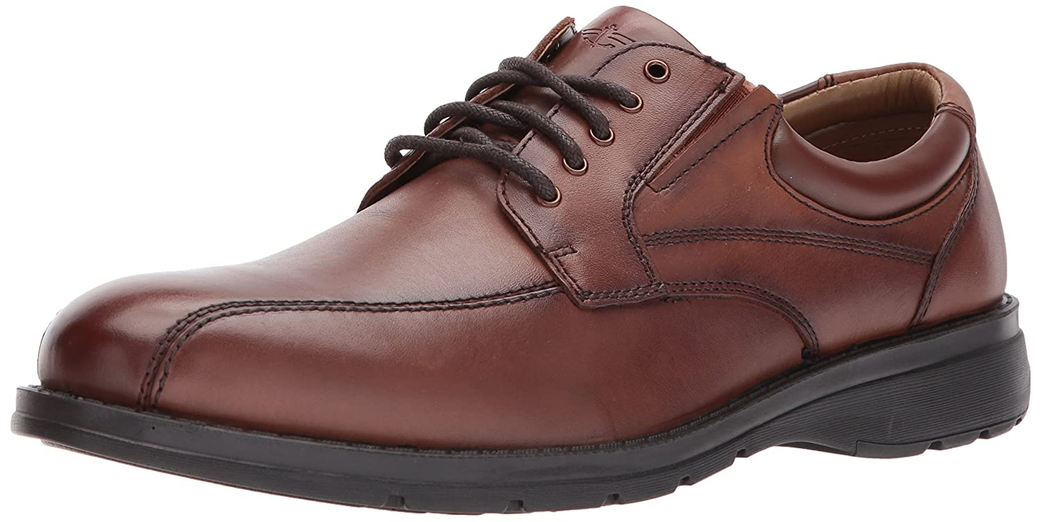 Dockers Mens Trustee 2.0 Leather Dress Casual Oxford zapatos, Dark Tan, 10 M -