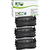 Renewable Toner Compatible Toner Cartridge Replacement for HP CF289X 89X Laserjet Enterprise M507 M528 (3-Pack, No Chip)