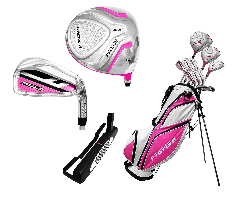 Ladies Completeレディース用ゴルフクラブセットレディース、右手、ピンク) B00LLHMD1U