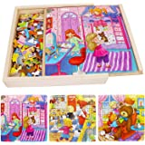 YOHE 49 Piece x 3 Puzzle Games for Kids,Gifts Toys for 2-9 Year Old Girls Boys,Educational Toys Age 2 3 4 5 6 7 8 9…