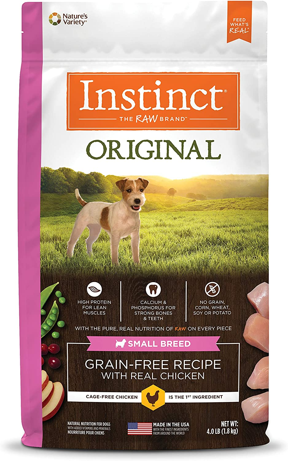 Instinct Original Small Breed Grain Free Recipe Natural Dry Dog Food