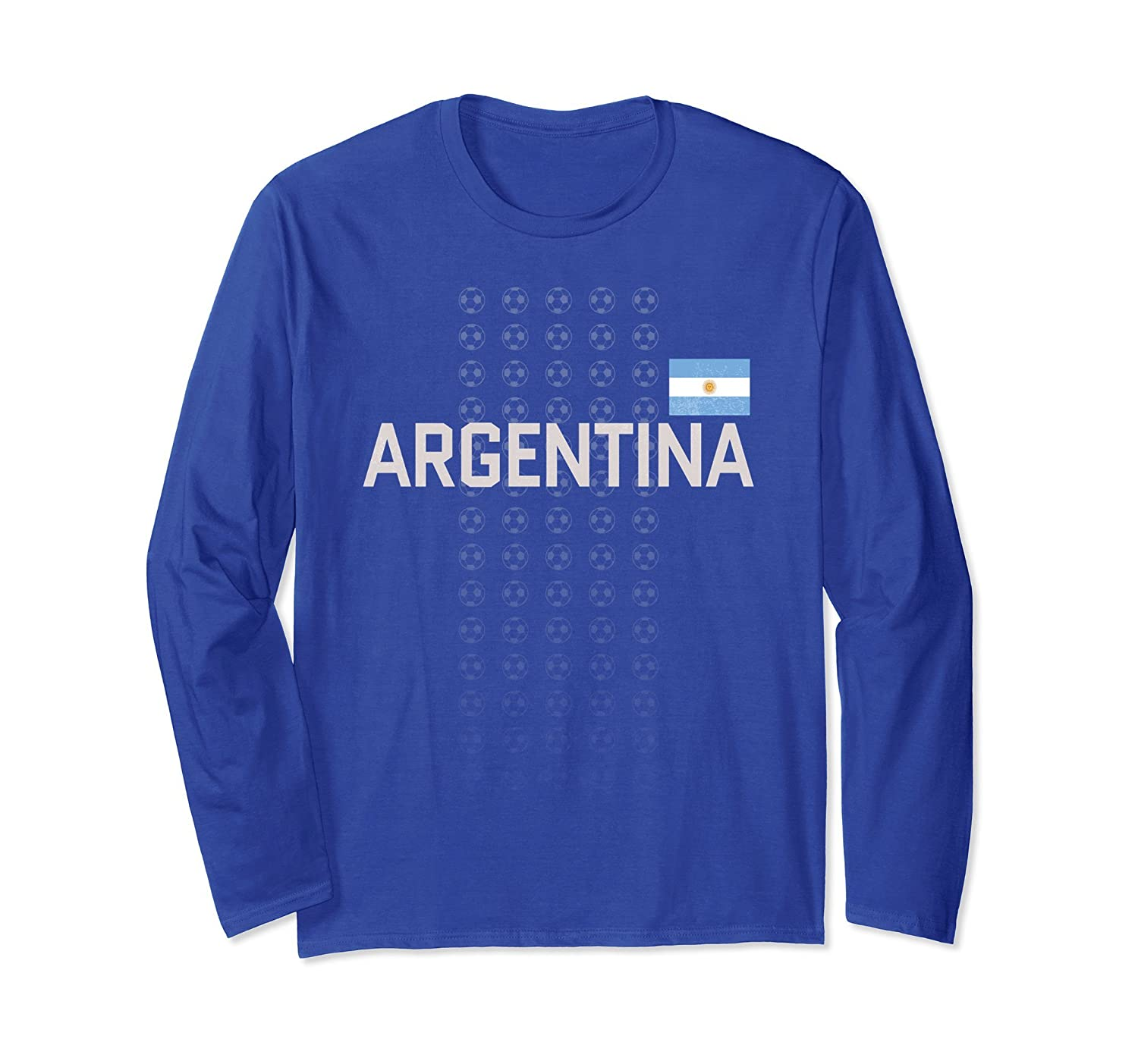 Argentina Soccer Retro Top Fan Clothing Adult Teens-ah my shirt one gift