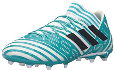 adidas Men's Nemeziz Messi 17.3 FG Soccer Shoe, Core BlackSolar RedTactile Gold, 7 M US