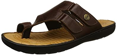 b87723a1c4284d Scholl Men s Tim Toe Ring Dark Brown Hawaii Thong Sandals-10 UK India (