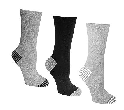 Calcetines de mujer de, 4-8 UK 3 pares de, 37-42
