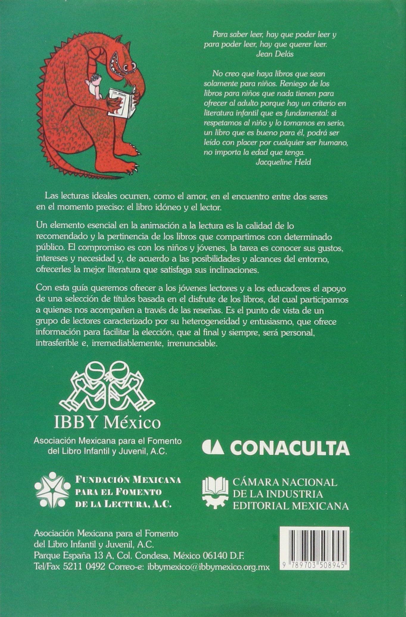 Guía de libros recomendados para niños y jovenes 2006: ASOCIACION MEXICANA PARA EL FOMENTO DEL: 9789703508945: Amazon.com: Books