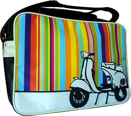 1c01d497f3 Vespa Scooter Shoulder Bag. Fits A4 and Laptops. Original Retro Pop ...