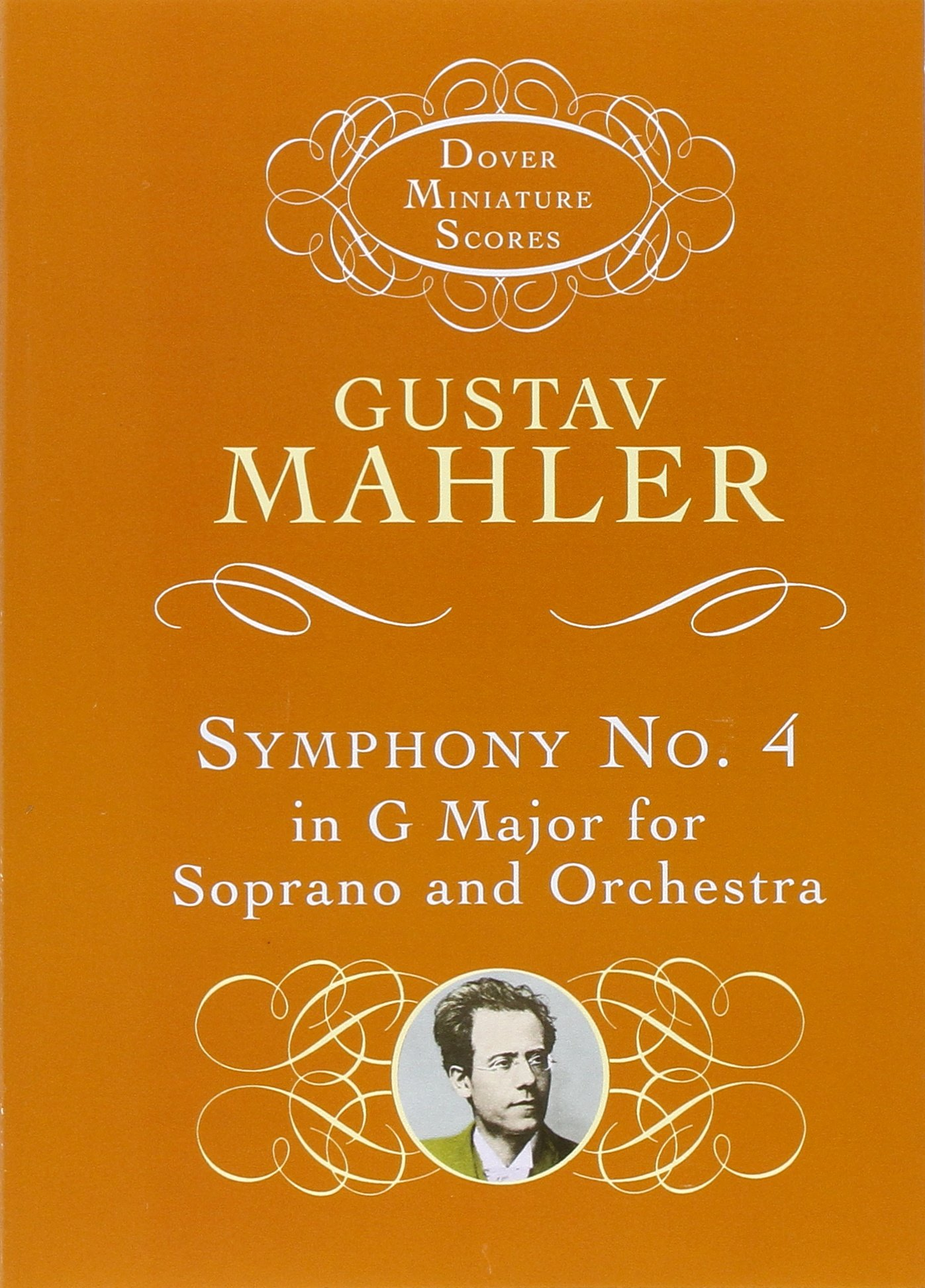 Mahler Symphony No7 Song Of The Night Dover Miniature Score Orchestra Music Book