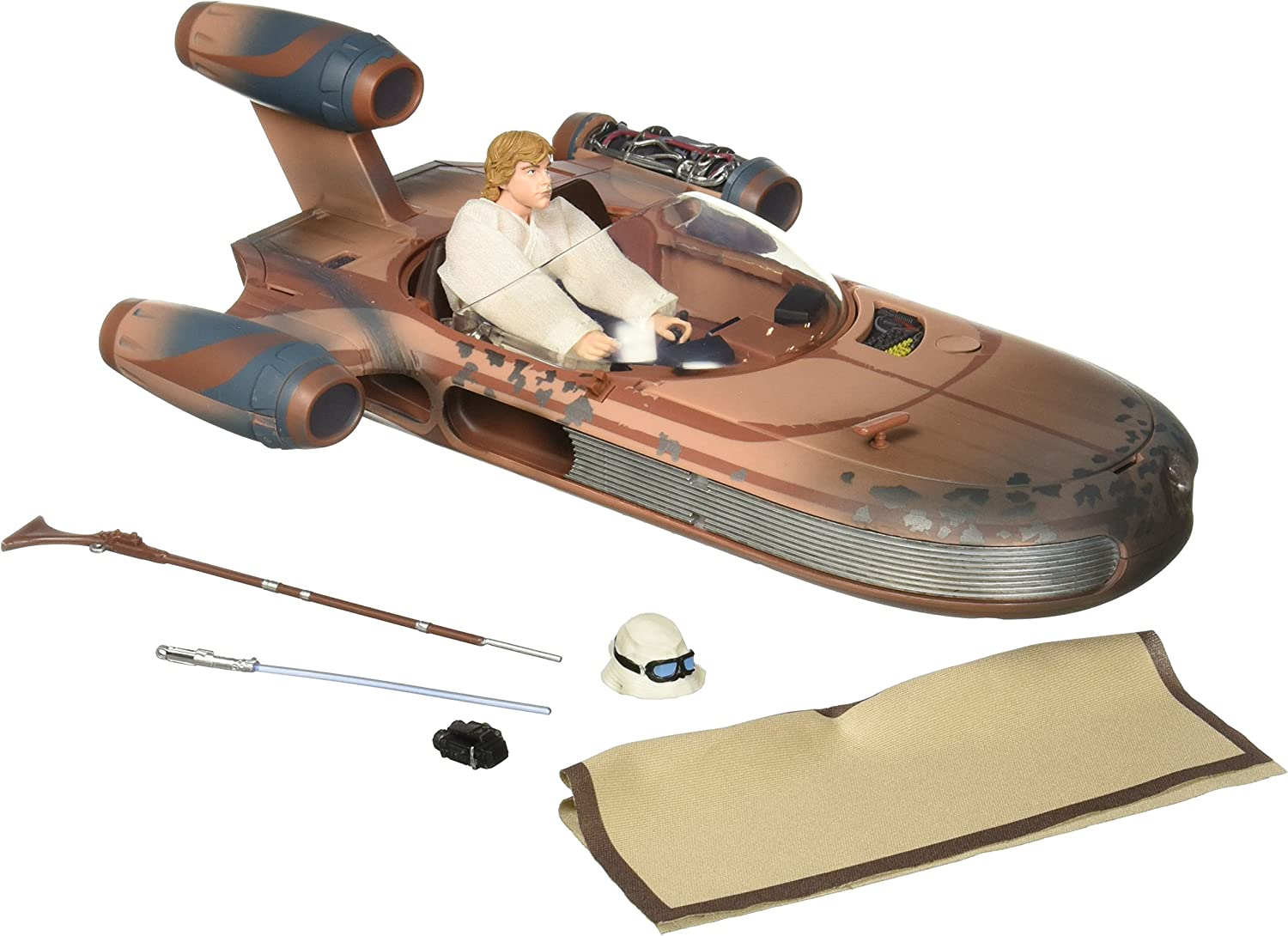 Star Wars Black Series Luke And X-34 San Diego SDCC Exclusive Landspeeder