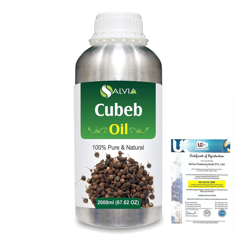 Cubeb (Piper Cubeba) 100% Pure Natural Essential Oil 2000ml/67 fl.oz. B07RD6DY5S