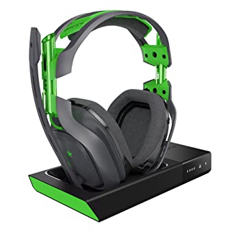 2c18e57a16c576 ASTRO Gaming A50 Wireless Dolby Gaming Headset, Black/Green (Xbox One, PC): Xbox  One: Computer and Video Games - Amazon.ca