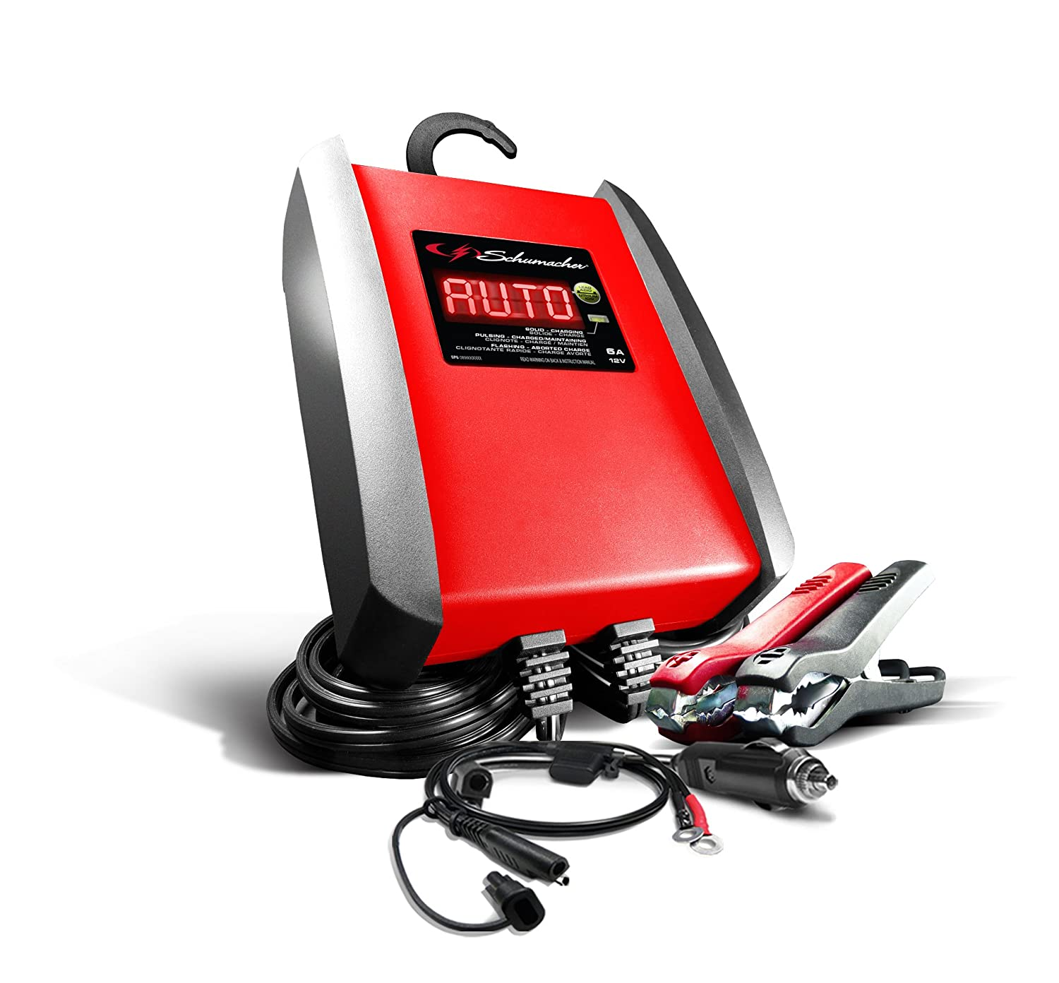 Schumacher SP1298 6A 12V Automatic Battery Charger and Maintainer