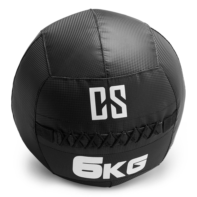Capital Sports Bravor Balón Medicinal PVC 6 Kg (Entrenamiento del ...