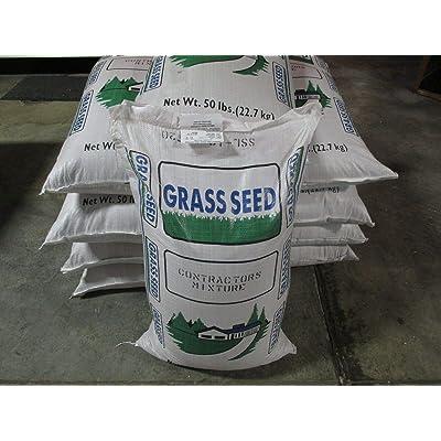 AchmadAnam - Seeds - 5 LBS New CONTRACTOR'S Mix Grass Kentucky 31 Ryegrass Quick Germination Full Sun : Garden & Outdoor
