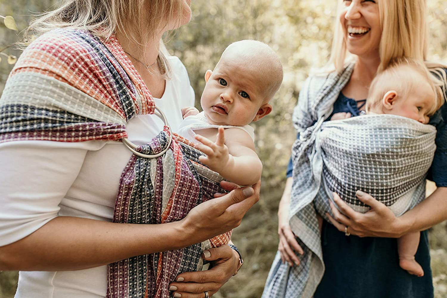 Rocky Mountain Hip Baby Wrap Ring Sling Baby Carrier for Infants and Toddlers