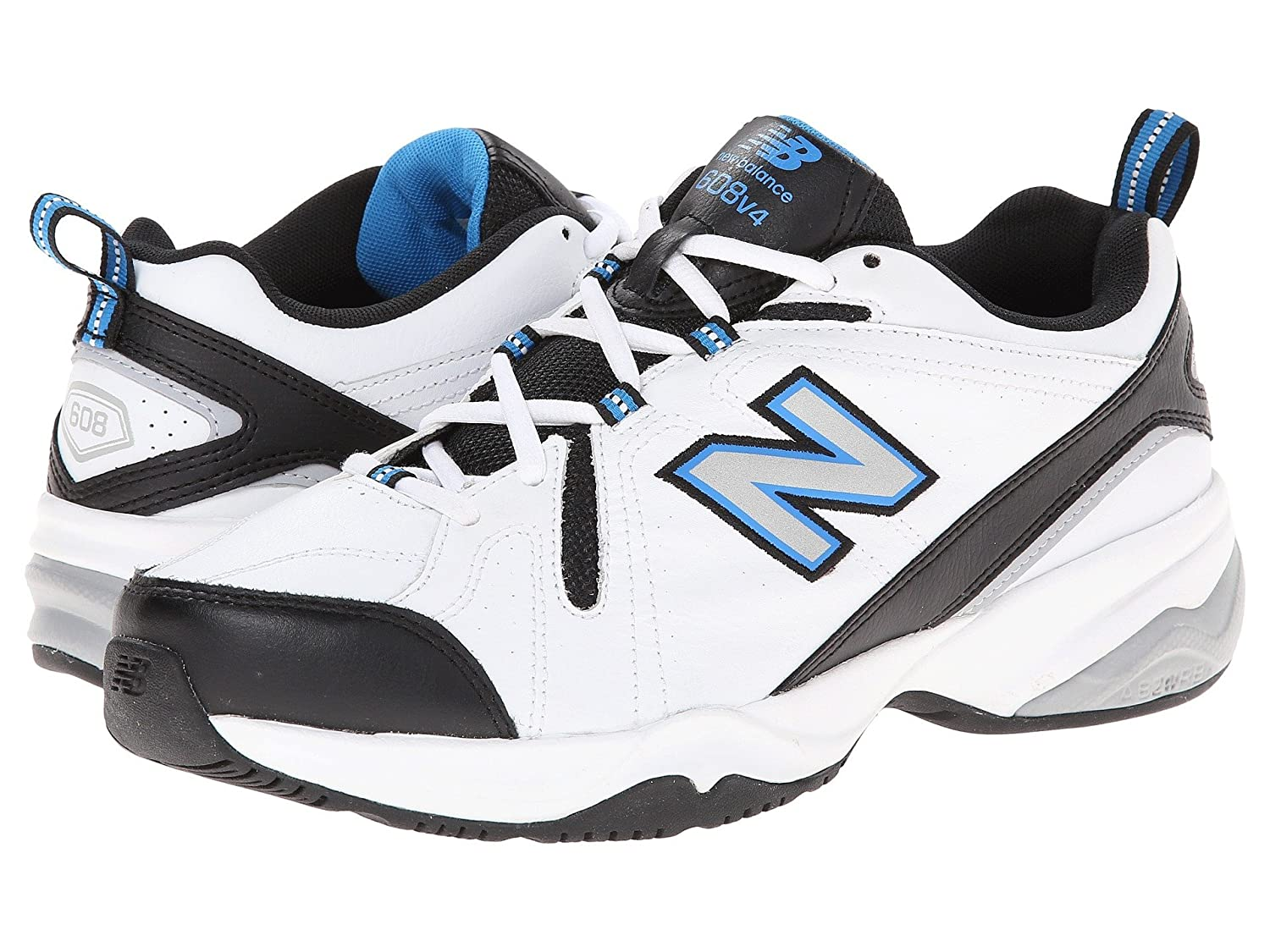 【数量は多】 (ニューバランス) Balance New Balance メンズウォーキングシューズ靴 MX608v4 White 9.5/Royal White/Royal 9.5 (27.5cm) EE - Wide B078NJPBJ7, ネットワークカメラのCamTech:1c0aef45 --- arianechie.dominiotemporario.com