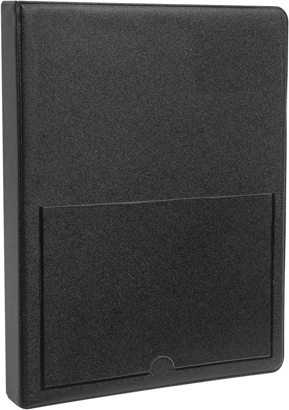 "Zink Photo Album Scrapbook   Sturdy PVC Material Holds 72 - 4x6"" Photos   Compatible with Kodak Dock and HP Sprocket Studio - Black"