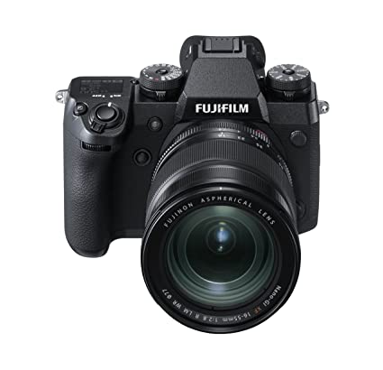 Fujifilm X-H1 FUJINON XF 16-55mm F2.8 R LM WR Kit, schwarz