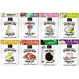 Project 7 Gourmet Gum Variety 8 Packs Set - Grapefruit Melon, Summer Snow, Coconut Lime, First Kiss, Peppermint Vanilla, Birthday Cake, Wedding Cake, Front Porch Lemonade
