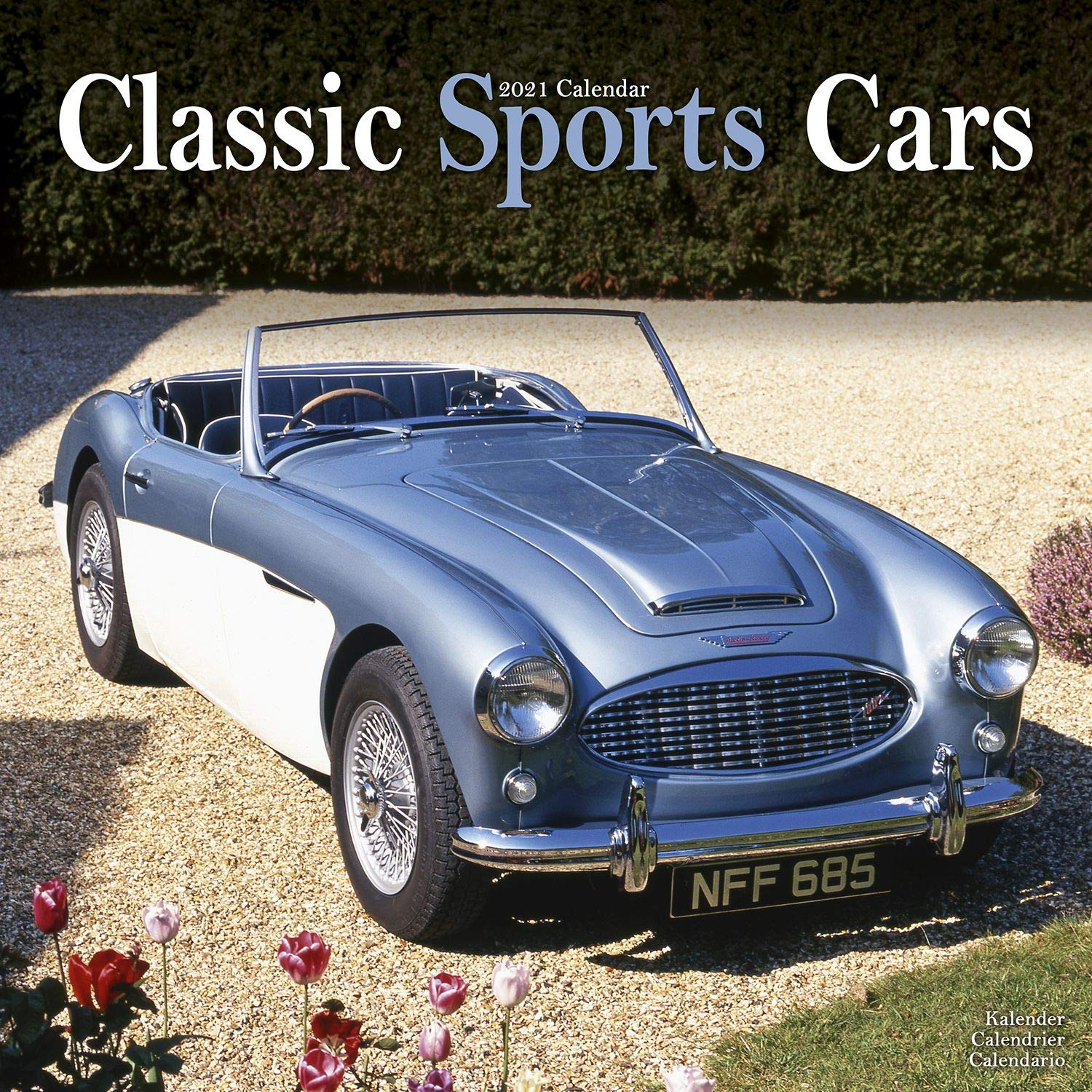 Calendrier Stock Car 2021 Sports Cars Calendar   Classic Sports Cars Calendar  Calendars