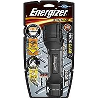 Energizer Hard Case Pro 4LED + 4xAA Pil, Krom/Siyah/Kırmızı