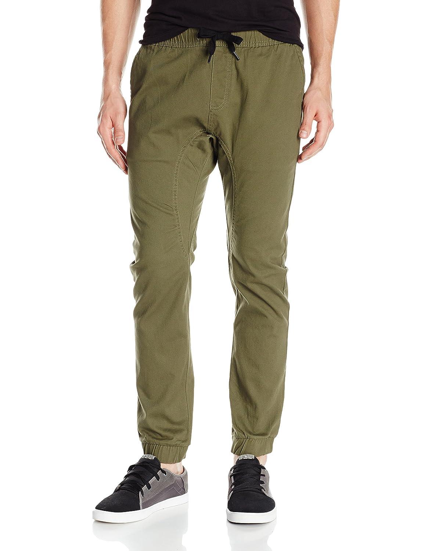 Southpole Men's Basic Stretch Twill Jogger Pants 9007-3331 DPKH