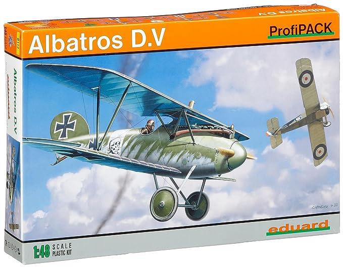 Amazon.com: Eduard modelos Albatros D.V. ProfiPack aviones ...