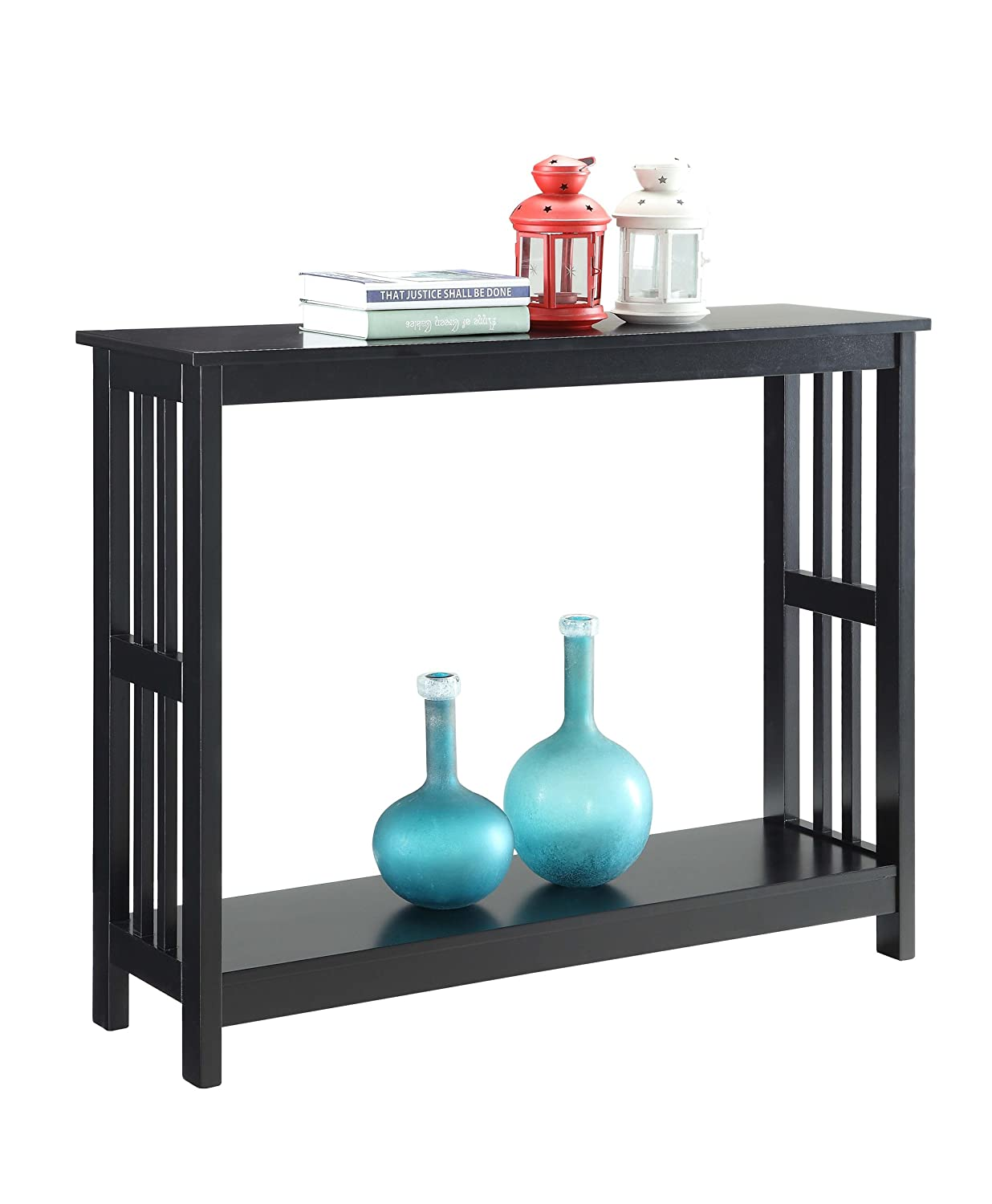 Convenience Concepts Mission Console Table, Black