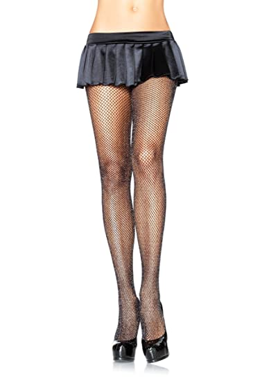 eea81de449aa0 Amazon.com: Leg Avenue Womens Glitter Fishnet Tights: Body Stocking ...